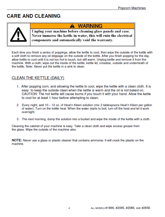 Popcorn instructions 2